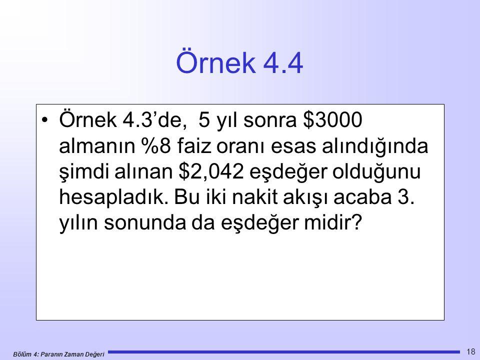 Örnek 4.4