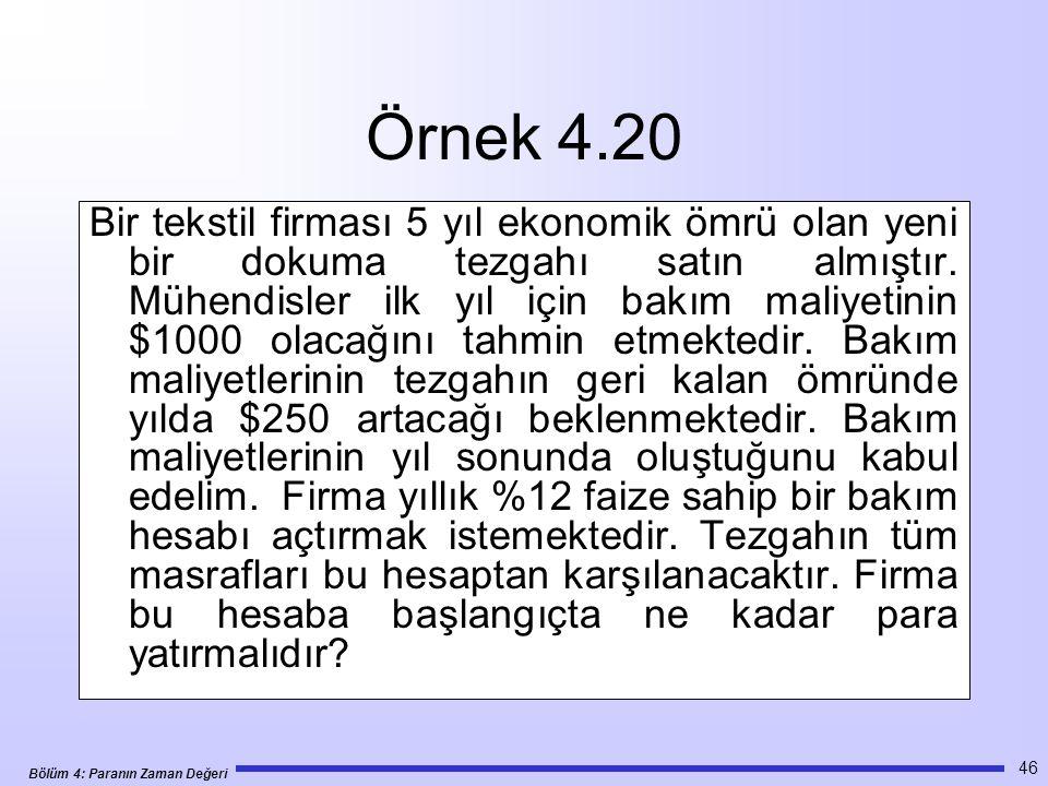 Örnek 4.20