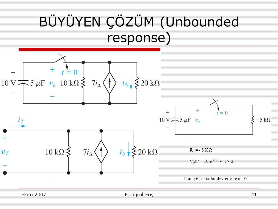 BÜYÜYEN ÇÖZÜM (Unbounded response)