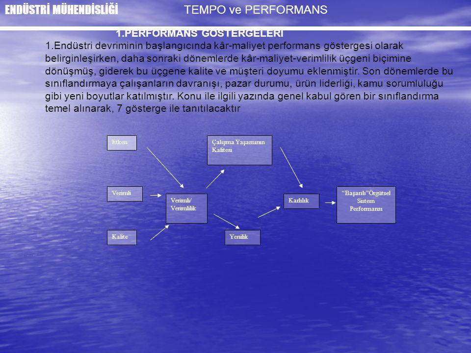 Başarılı Örgütsel Sistem Performansı