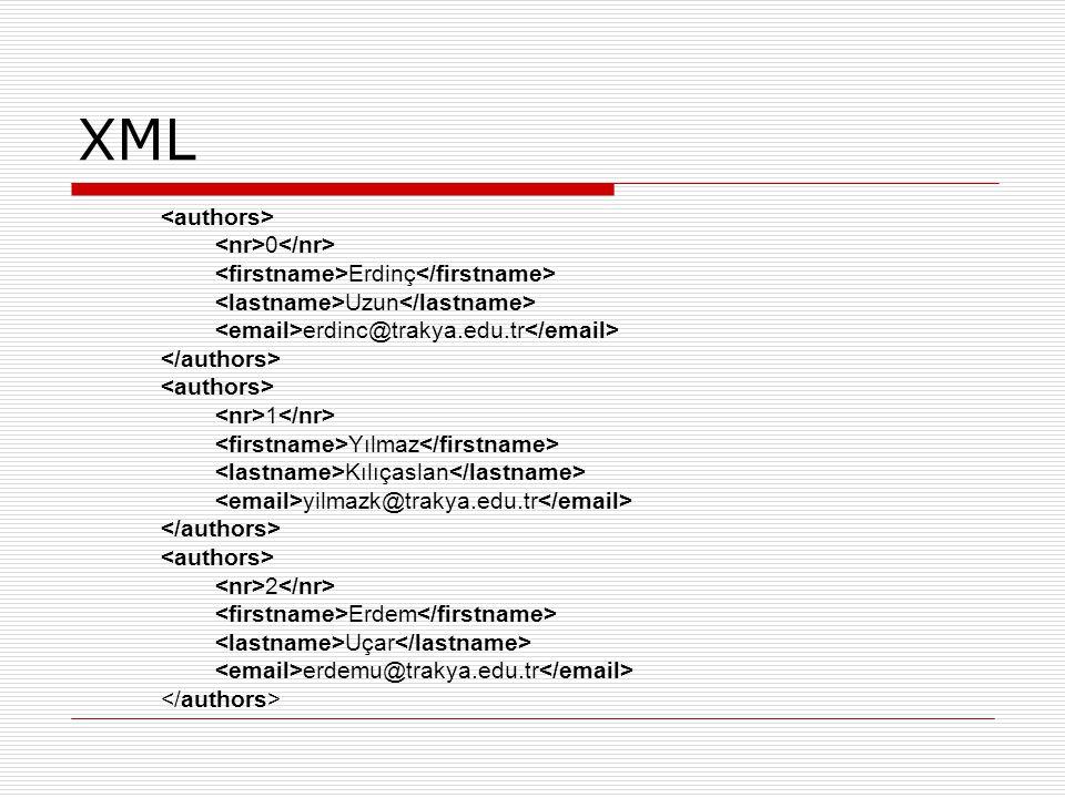 XML <authors> <nr>0</nr>
