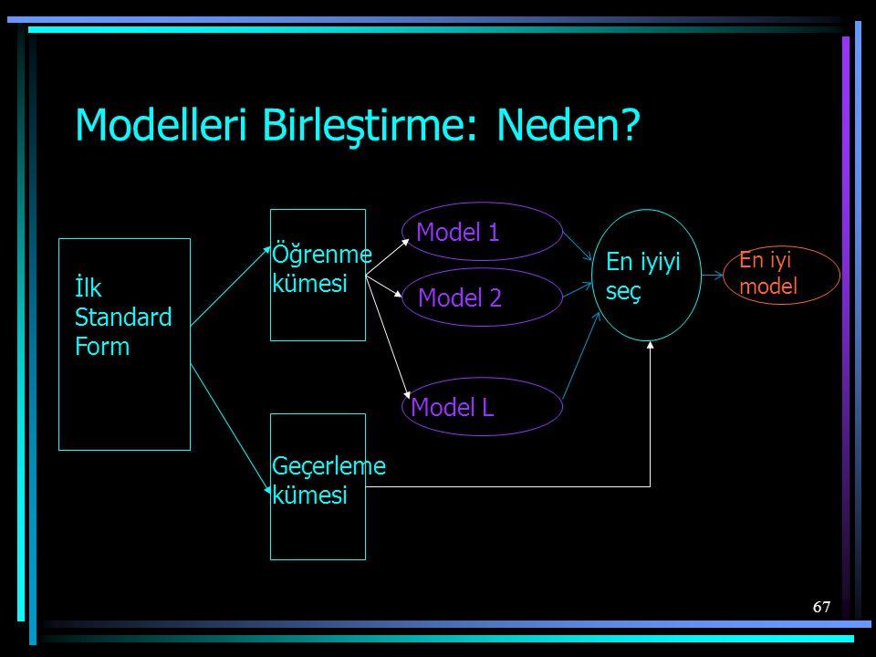 Modelleri Birleştirme: Neden