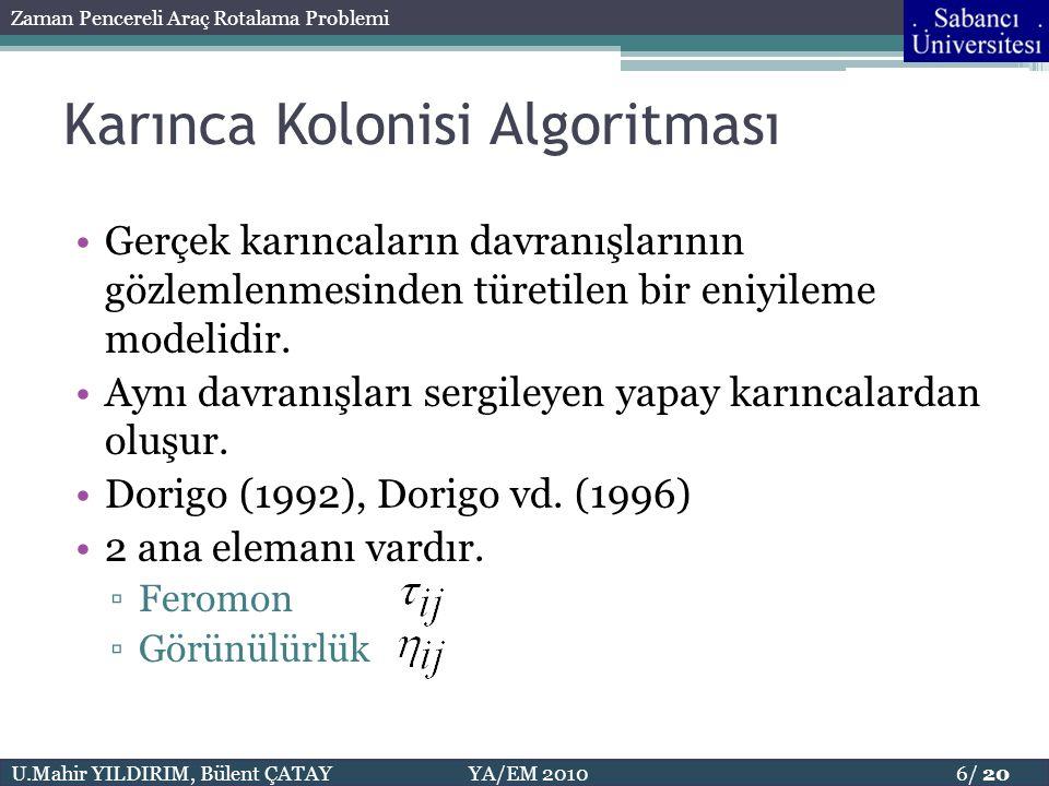 Karınca Kolonisi Algoritması