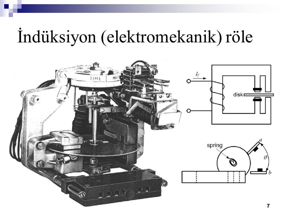 İndüksiyon (elektromekanik) röle