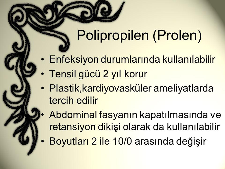 Polipropilen (Prolen)