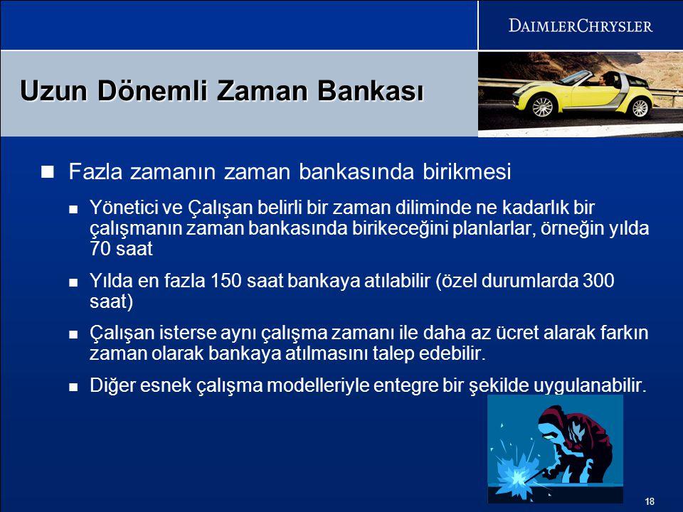 Uzun Dönemli Zaman Bankası