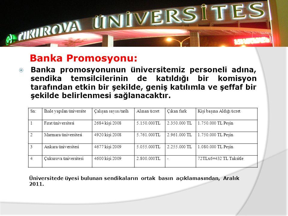 Banka Promosyonu: