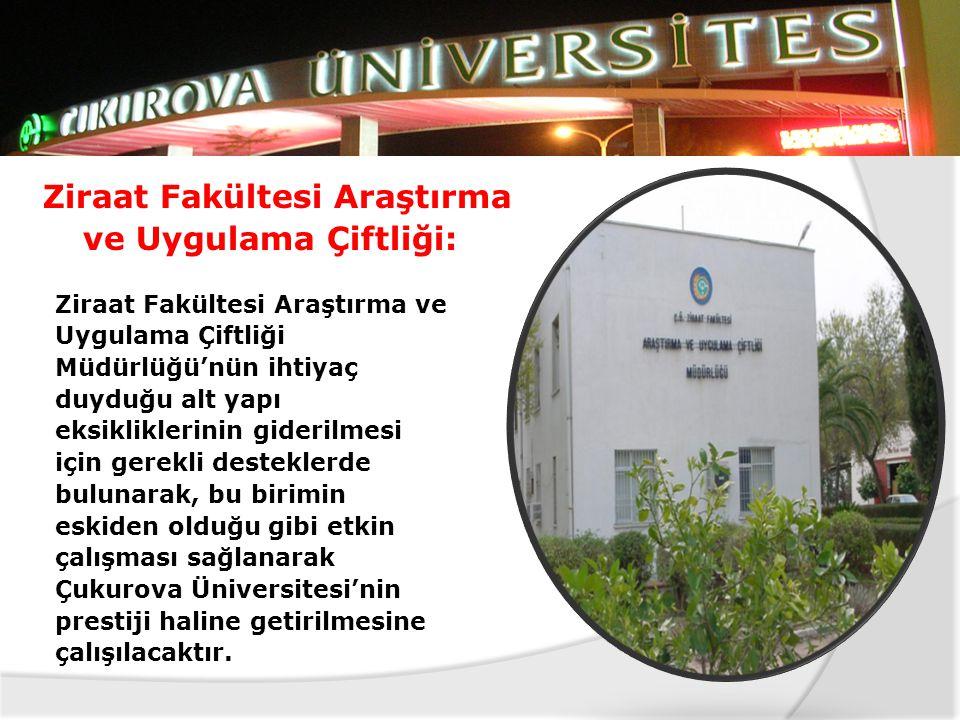 Ziraat Fakültesi Araştırma ve Uygulama Çiftliği: