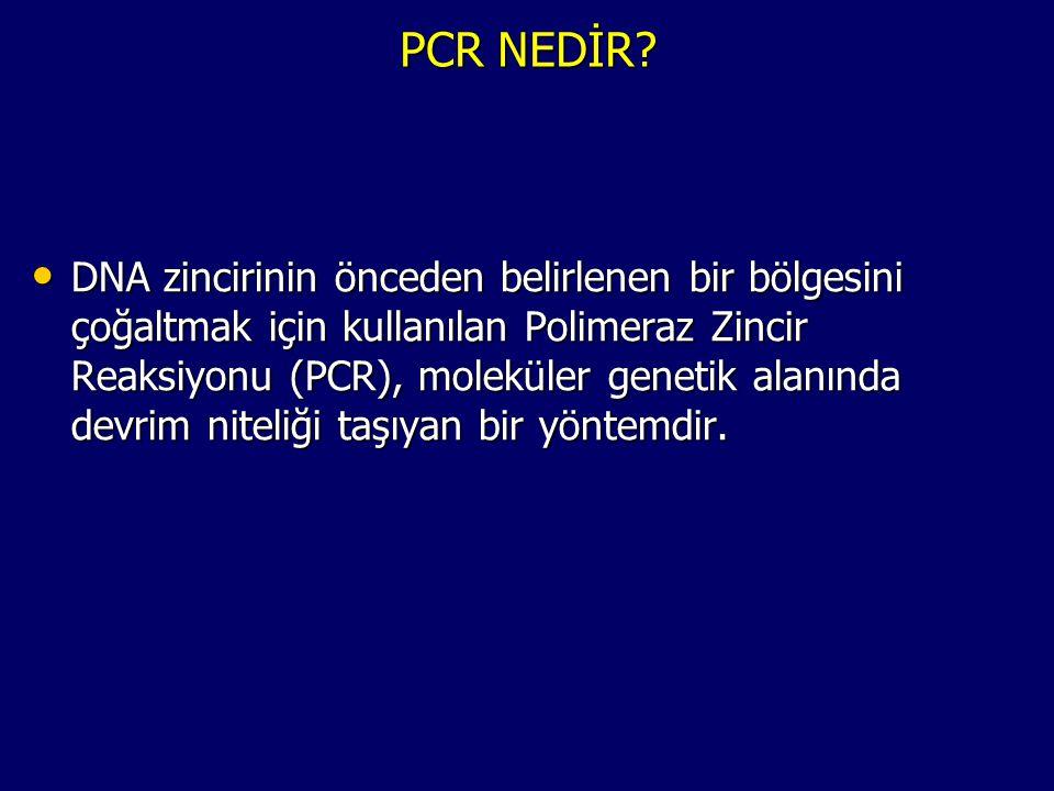 PCR NEDİR