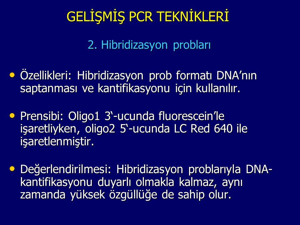 GELİŞMİŞ PCR TEKNİKLERİ