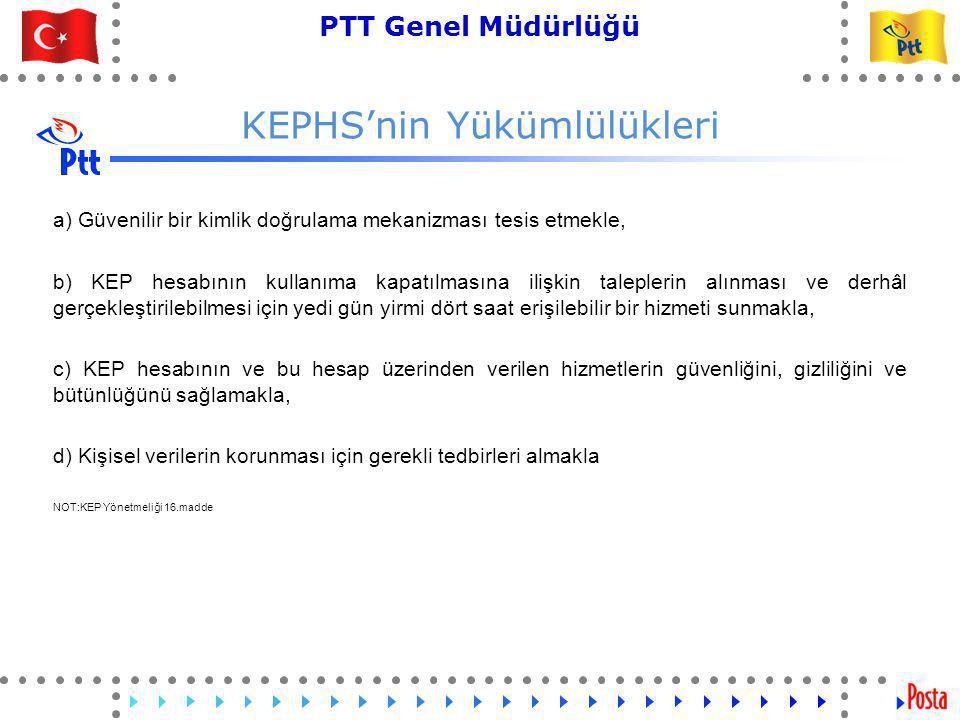 KEPHS'nin Yükümlülükleri