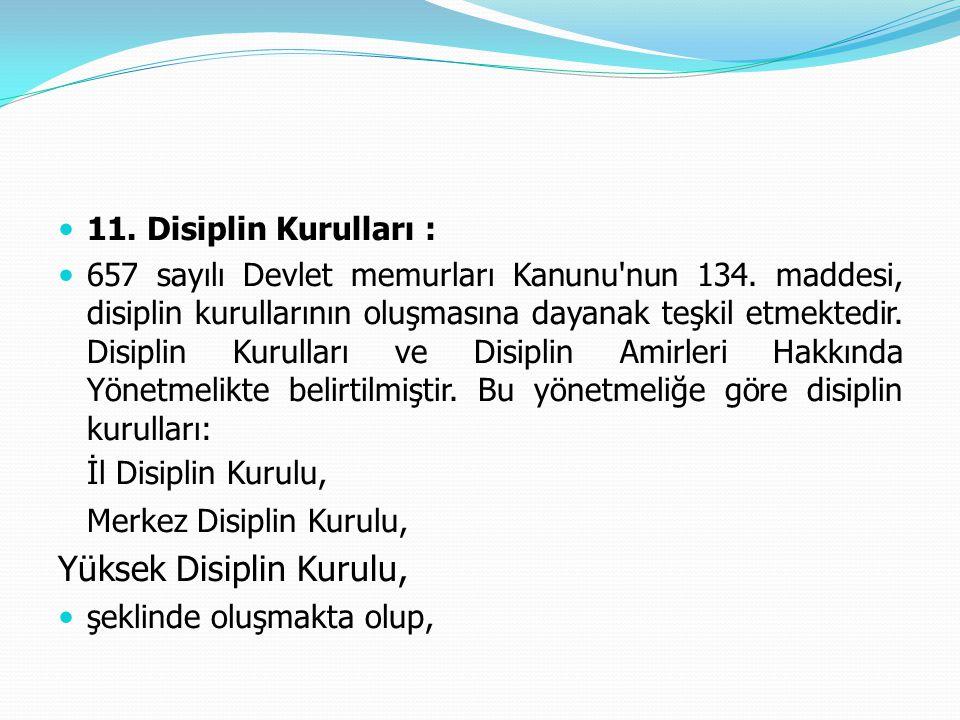 Yüksek Disiplin Kurulu,