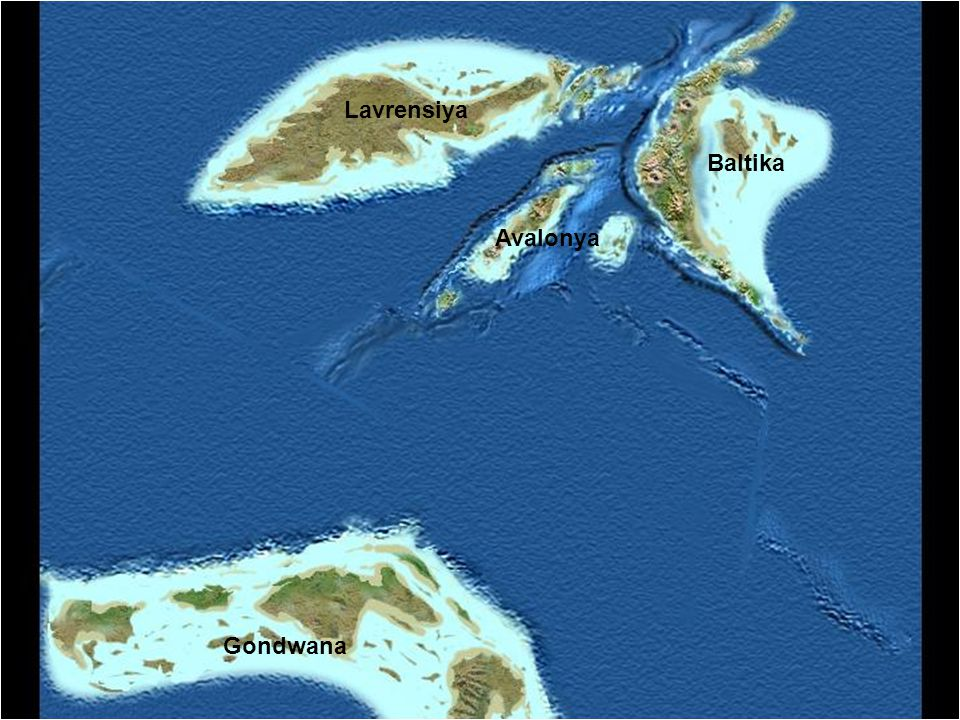 Lavrensiya Baltika Avalonya Gondwana
