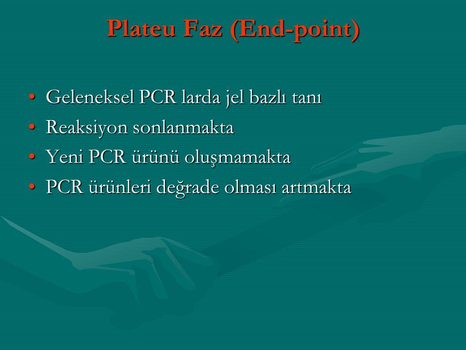 Plateu Faz (End-point)