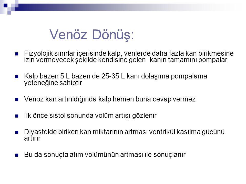 Venöz Dönüş:
