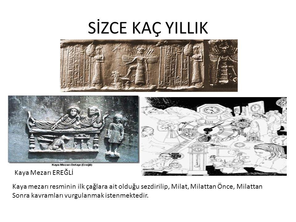 SİZCE KAÇ YILLIK Kaya Mezarı EREĞLİ