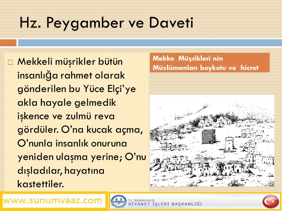 Hz. Peygamber ve Daveti