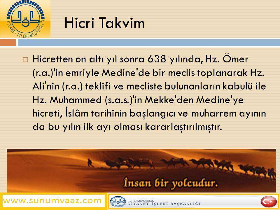 Hicri Takvim