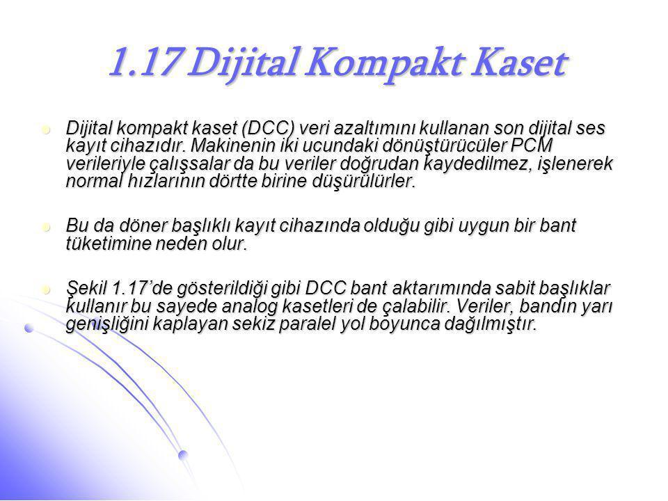 1.17 Dijital Kompakt Kaset