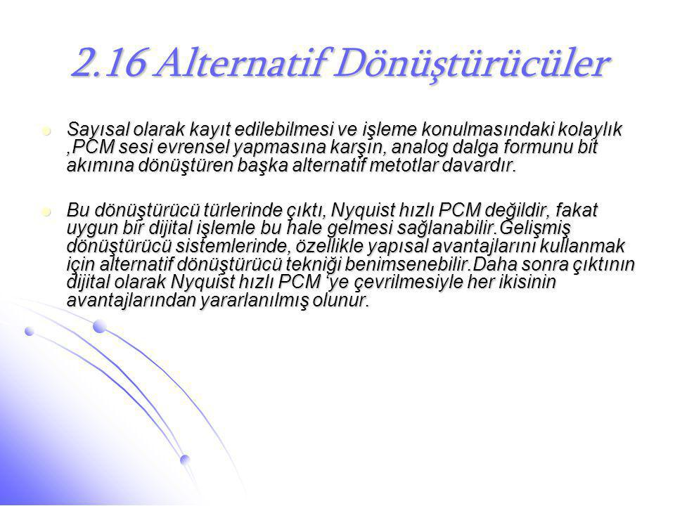 2.16 Alternatif Dönüştürücüler