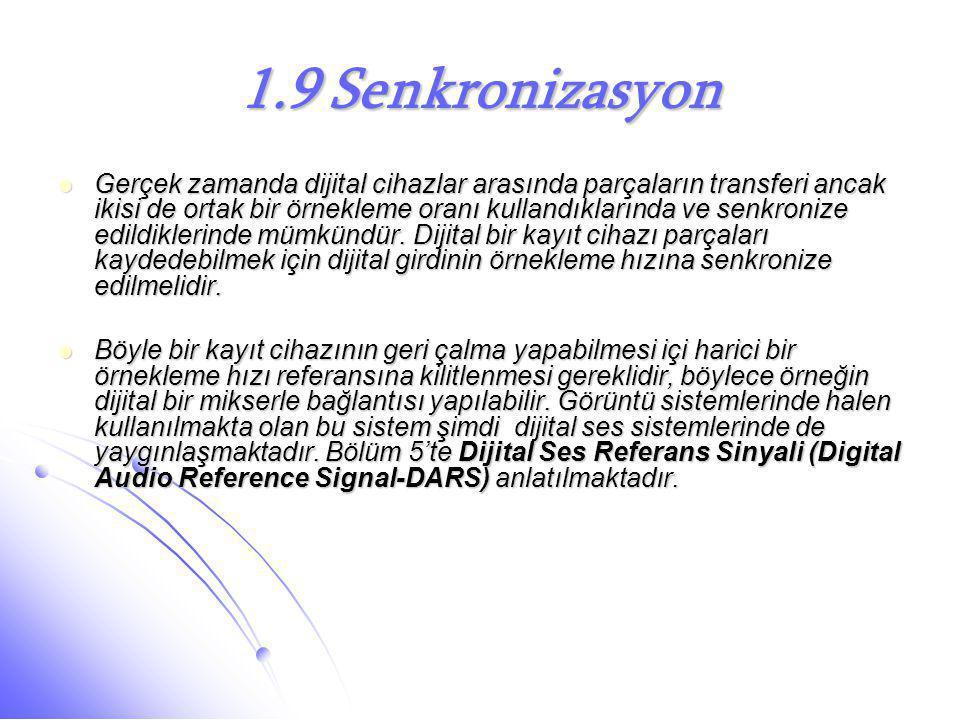 1.9 Senkronizasyon