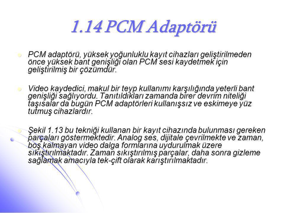 1.14 PCM Adaptörü