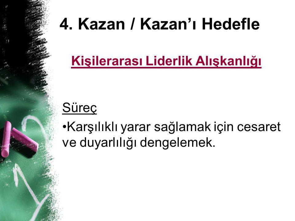 4. Kazan / Kazan'ı Hedefle