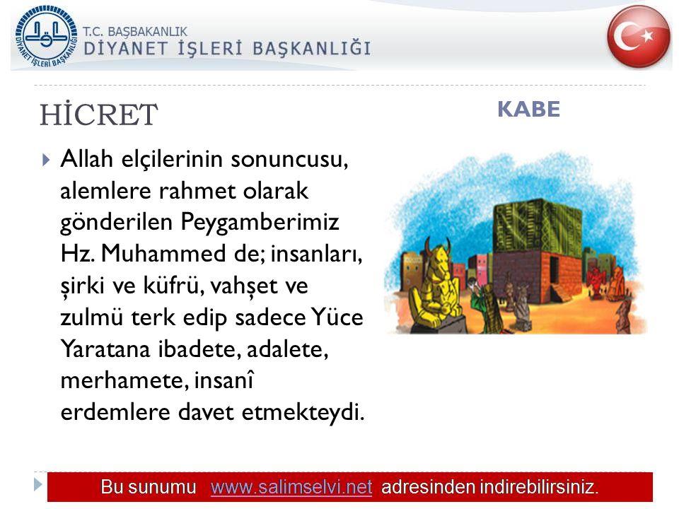 HİCRET KABE.