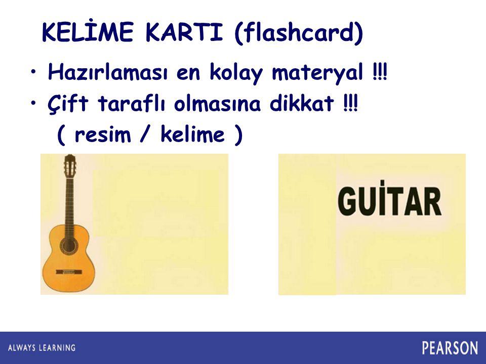 KELİME KARTI (flashcard)