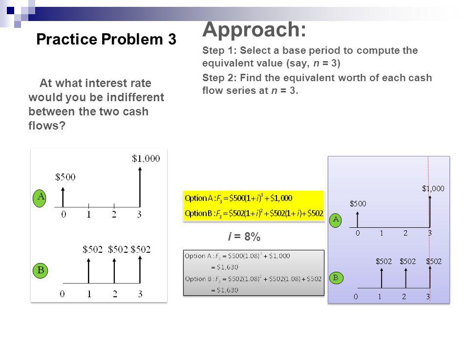 Approach: Practice Problem 3