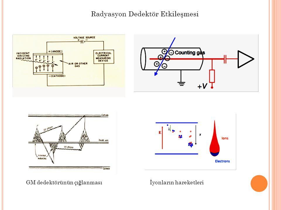 Radyasyon Dedektör Etkileşmesi