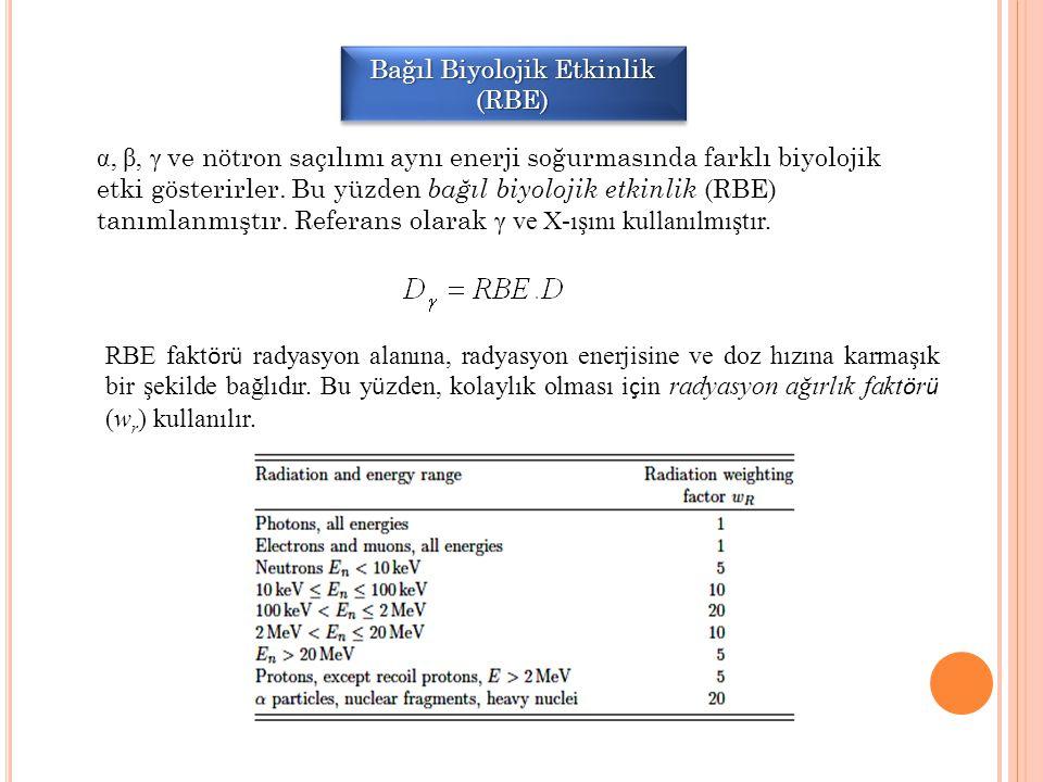 Bağıl Biyolojik Etkinlik (RBE)