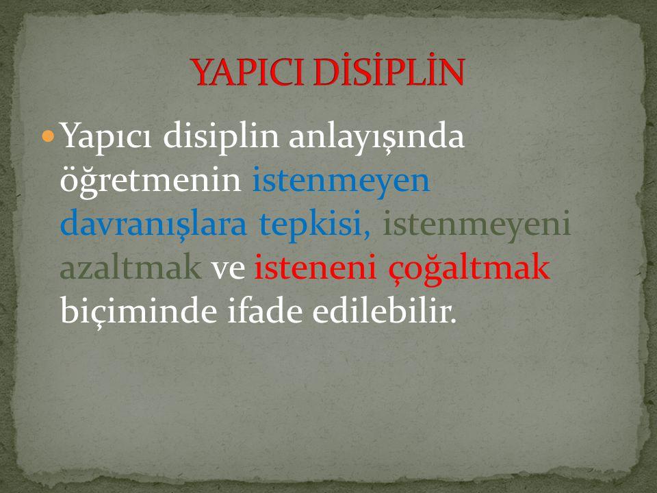YAPICI DİSİPLİN