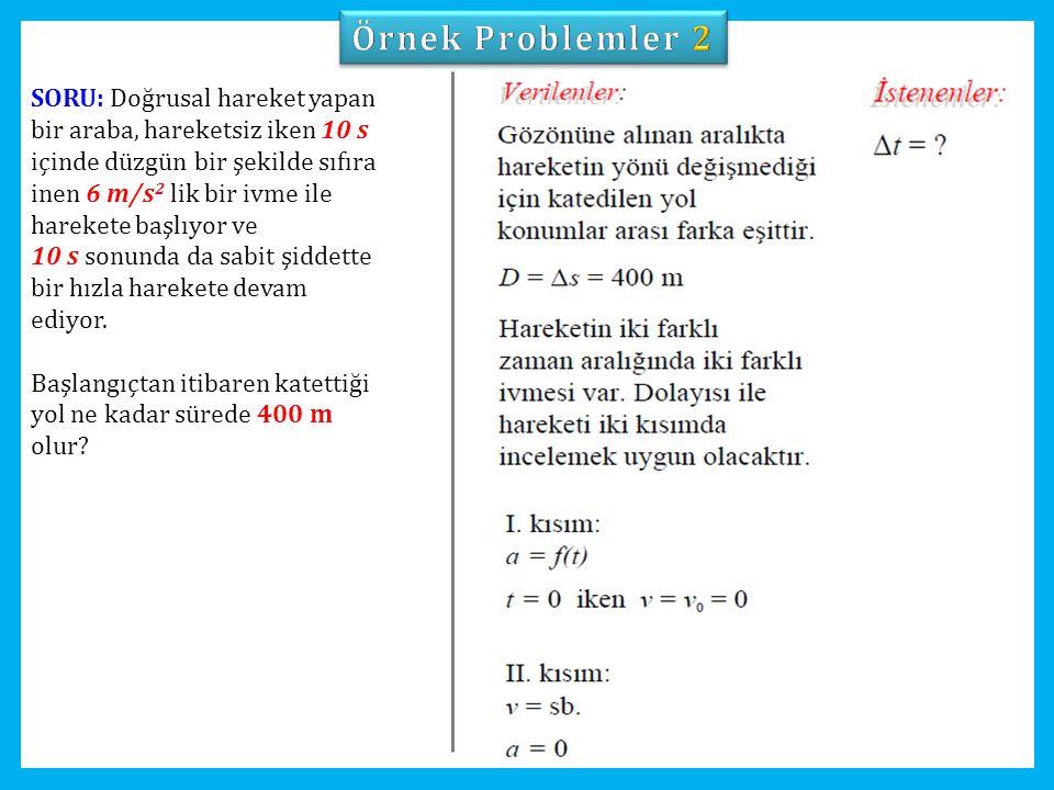 Örnek Problemler 2