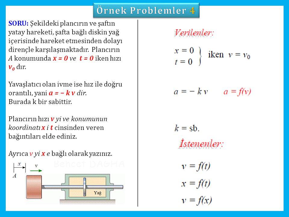 Örnek Problemler 4