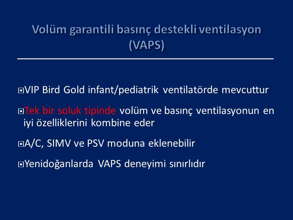 Volüm garantili basınç destekli ventilasyon (VAPS)