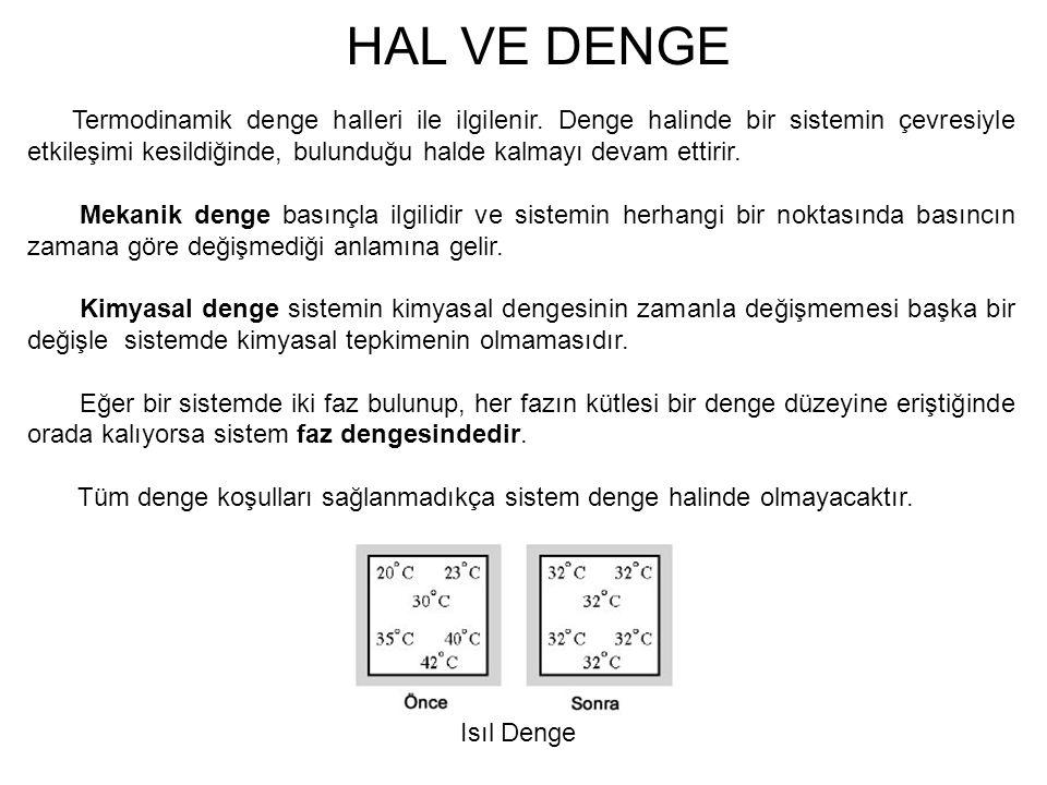 HAL VE DENGE