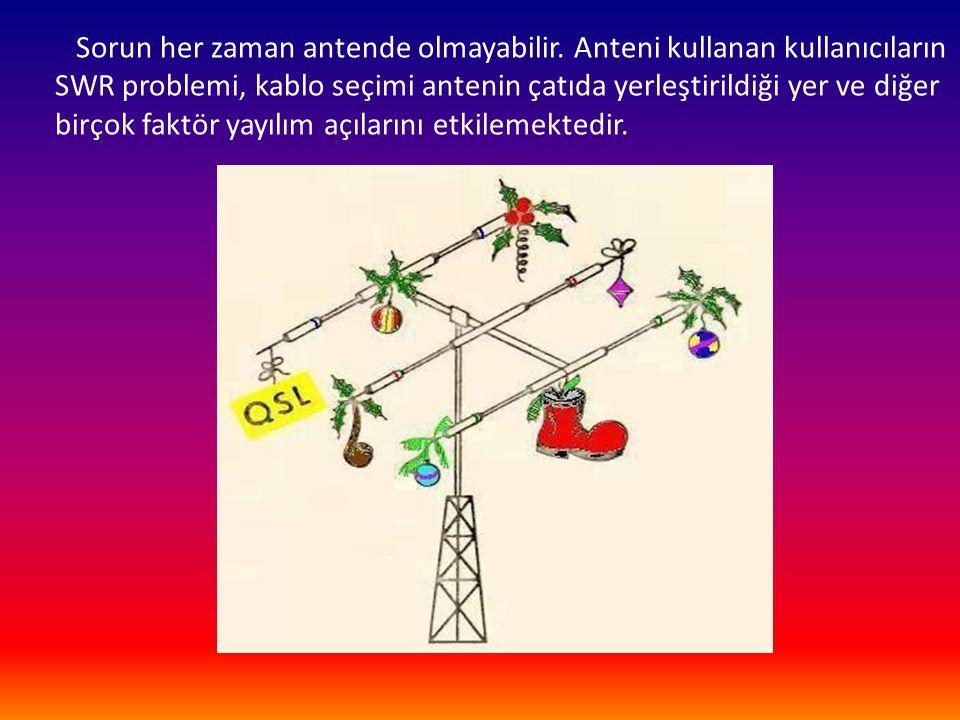Sorun her zaman antende olmayabilir
