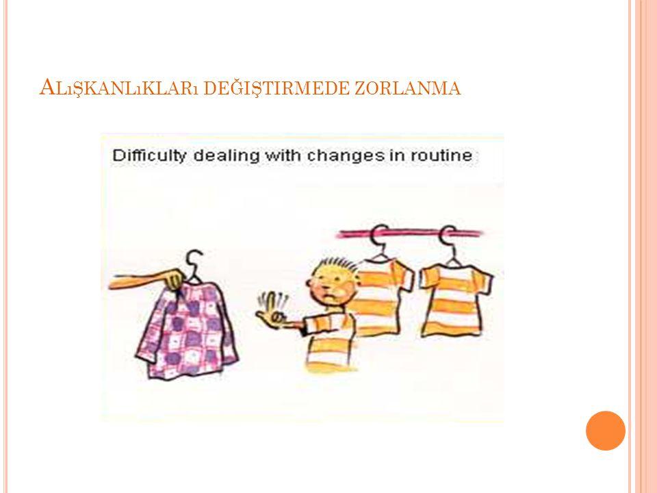 Alışkanlıkları değiştirmede zorlanma
