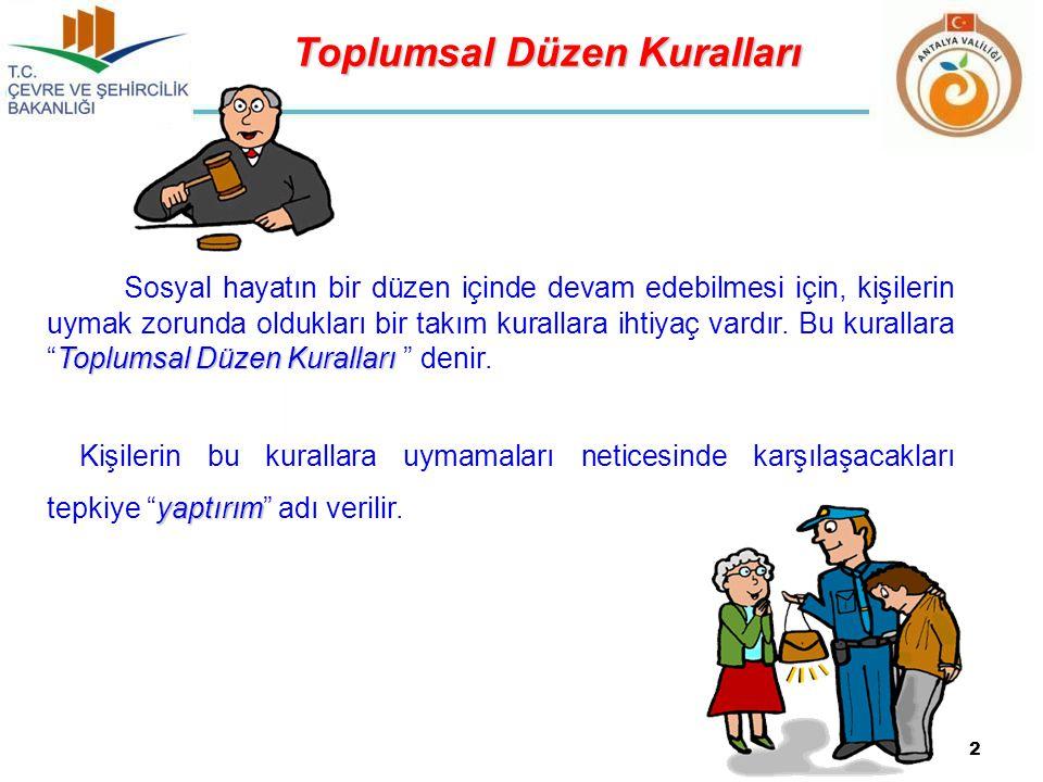 Toplumsal Düzen Kuralları