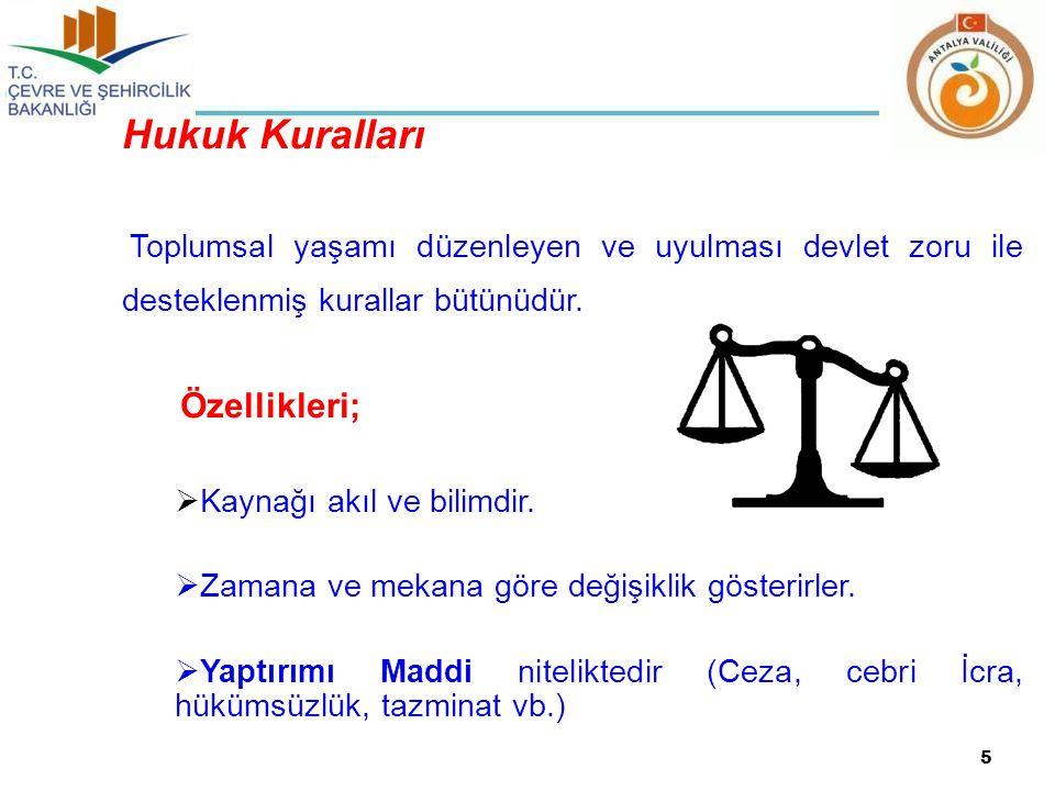 Hukuk Kuralları Özellikleri; Kaynağı akıl ve bilimdir.