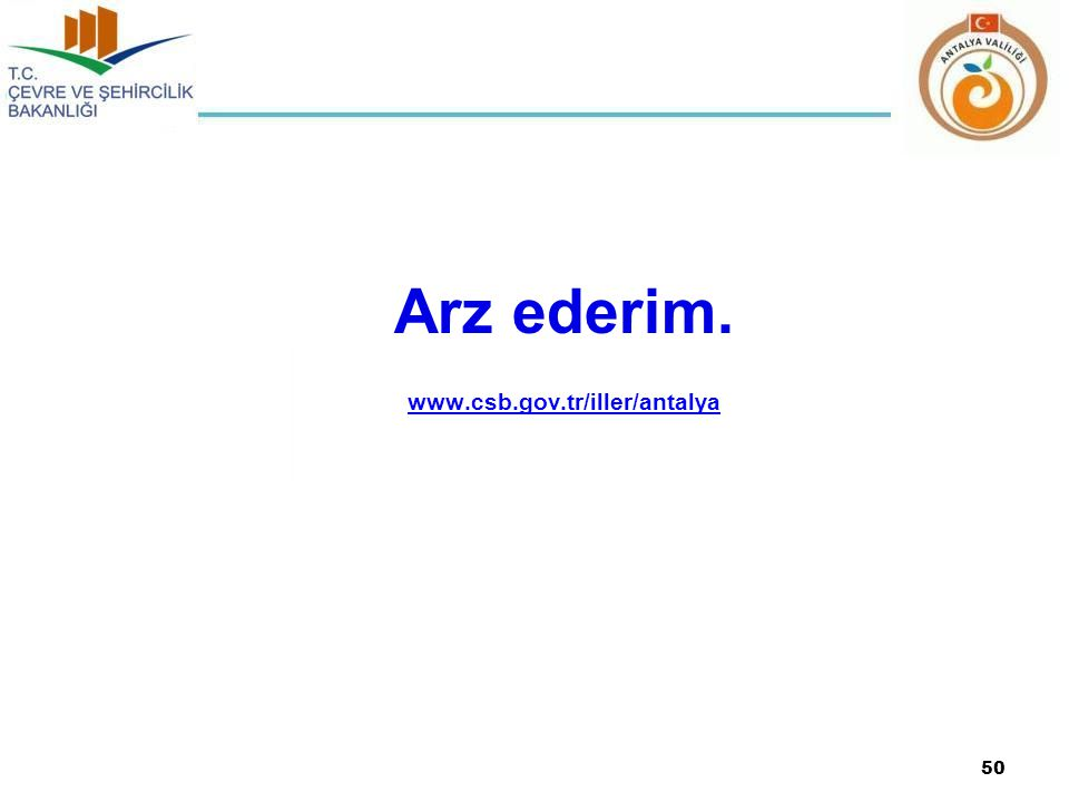 Arz ederim. www.csb.gov.tr/iller/antalya
