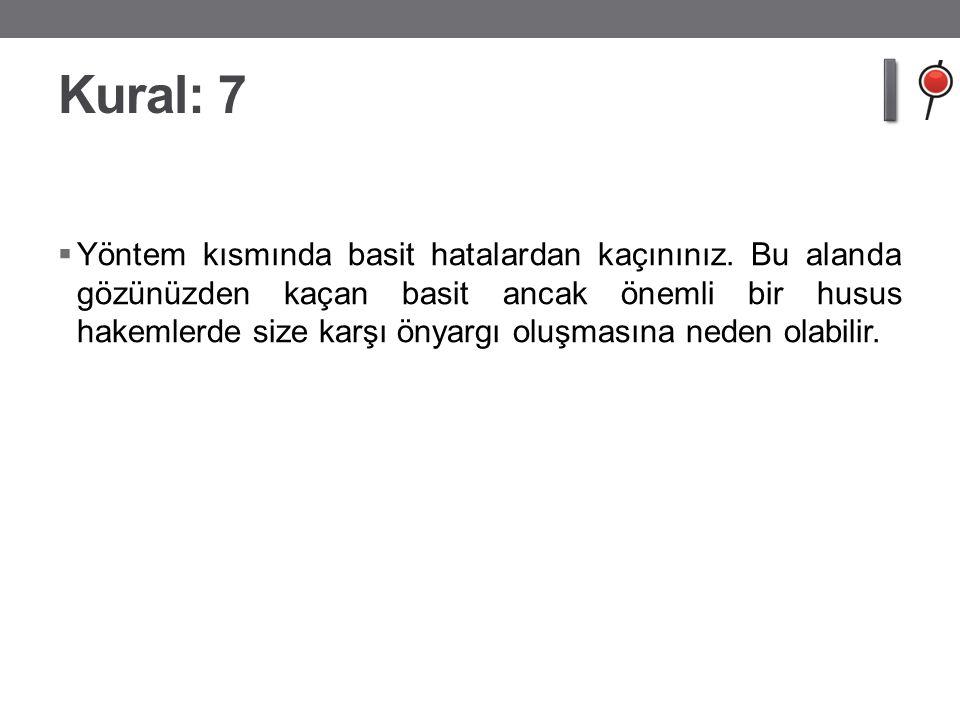 Kural: 7