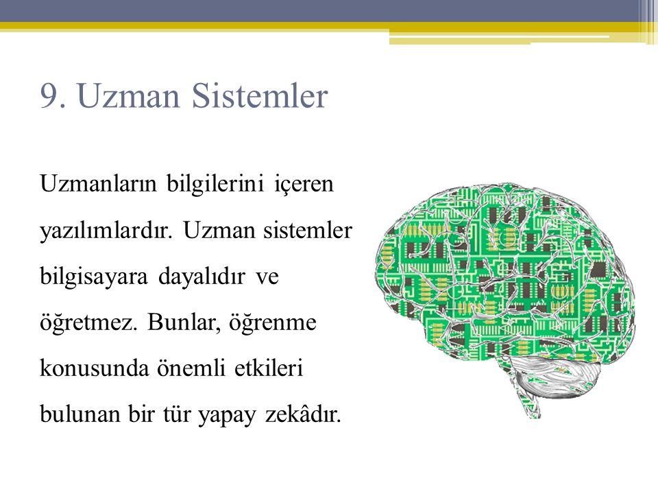 9. Uzman Sistemler