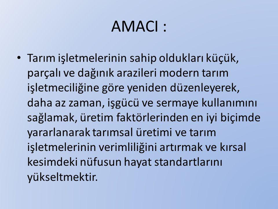 AMACI :