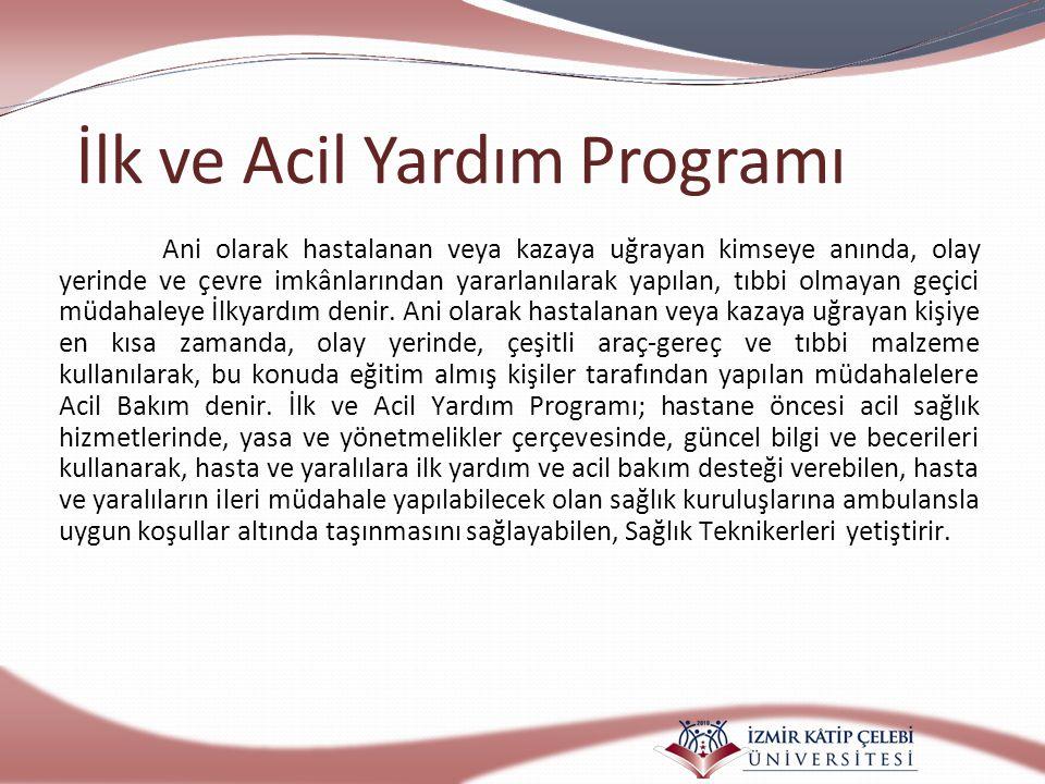 İlk ve Acil Yardım Programı