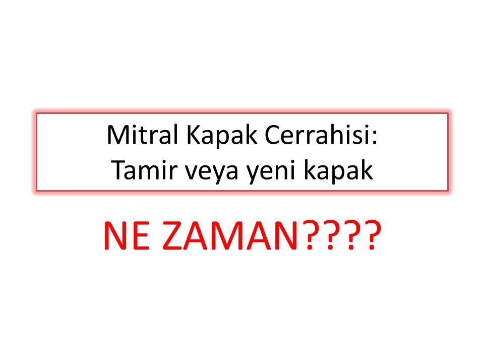 Mitral Kapak Cerrahisi: Tamir veya yeni kapak