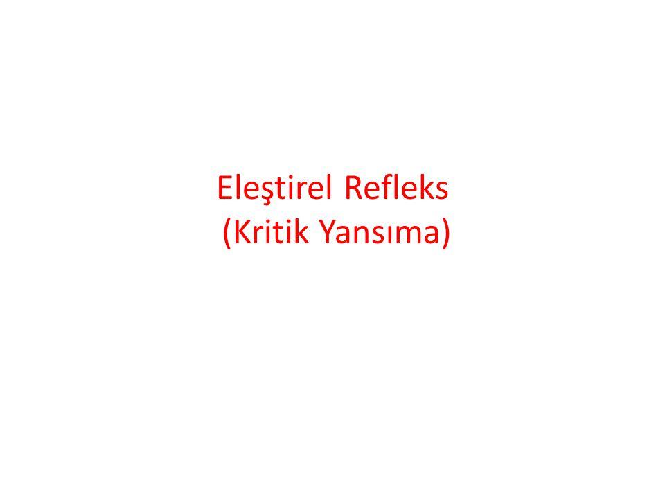 Eleştirel Refleks (Kritik Yansıma)