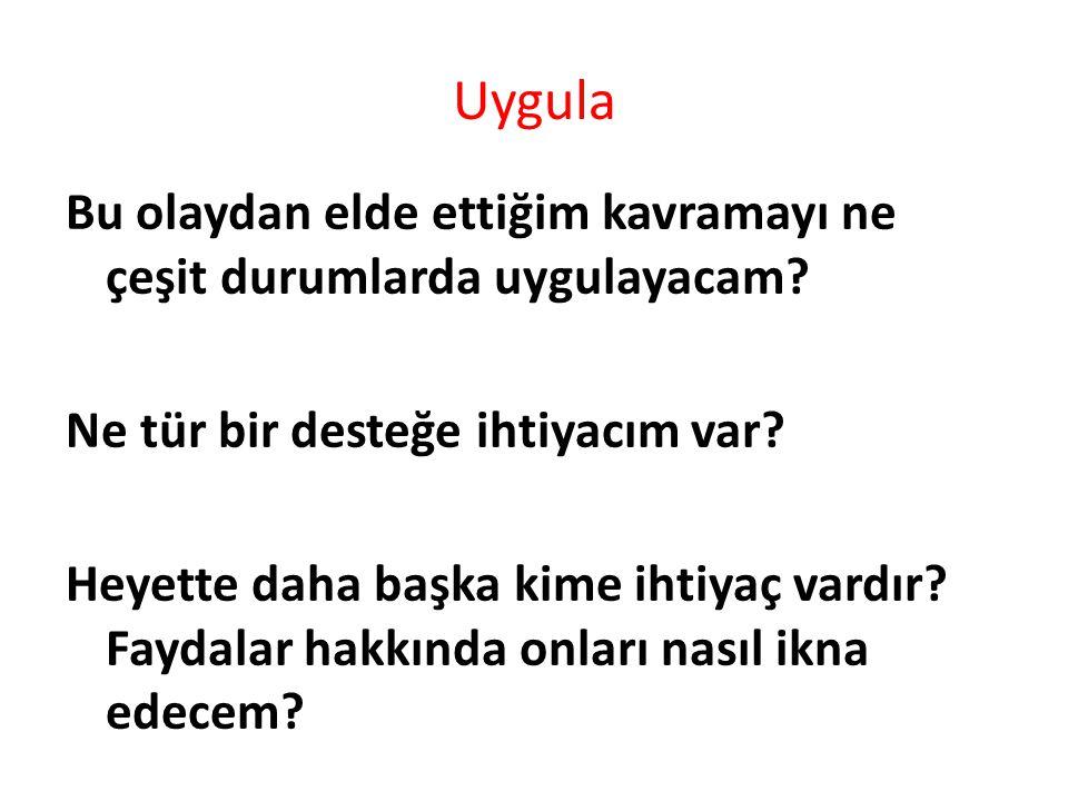 Uygula