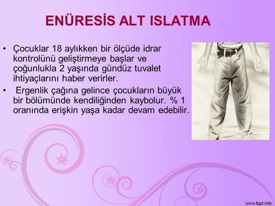 ENÜRESİS ALT ISLATMA